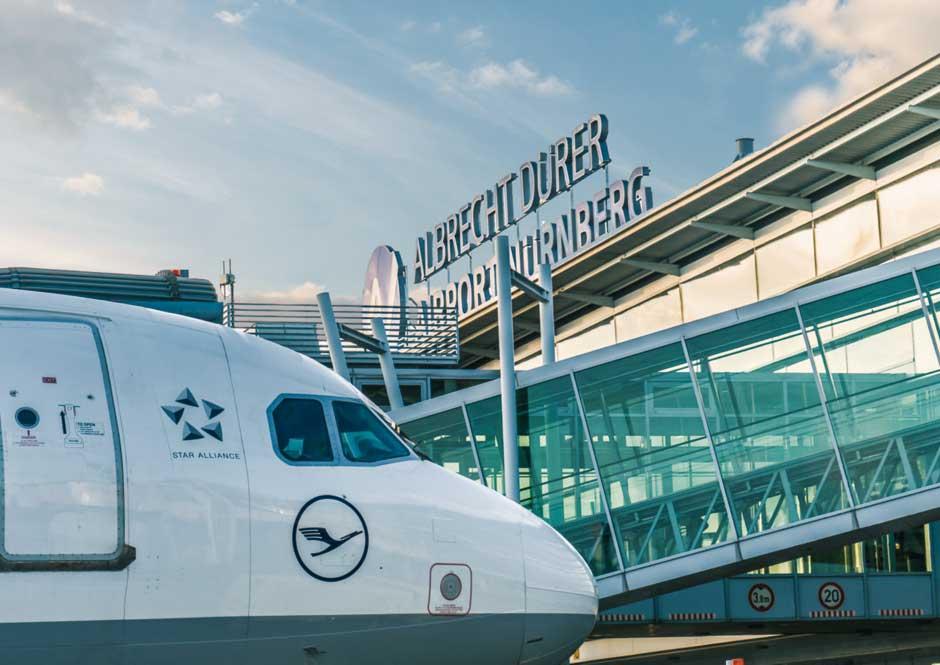 El aeropuerto de Núremberg, elegido el mejor de Alemania