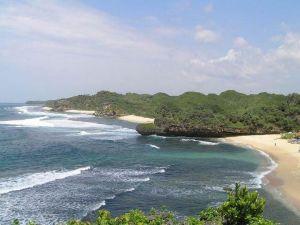 pantai songlibeg tugu wisata