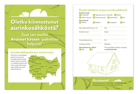 Double-Sided Brochure: Lumme