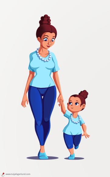 Mother & Child #2 / Commission