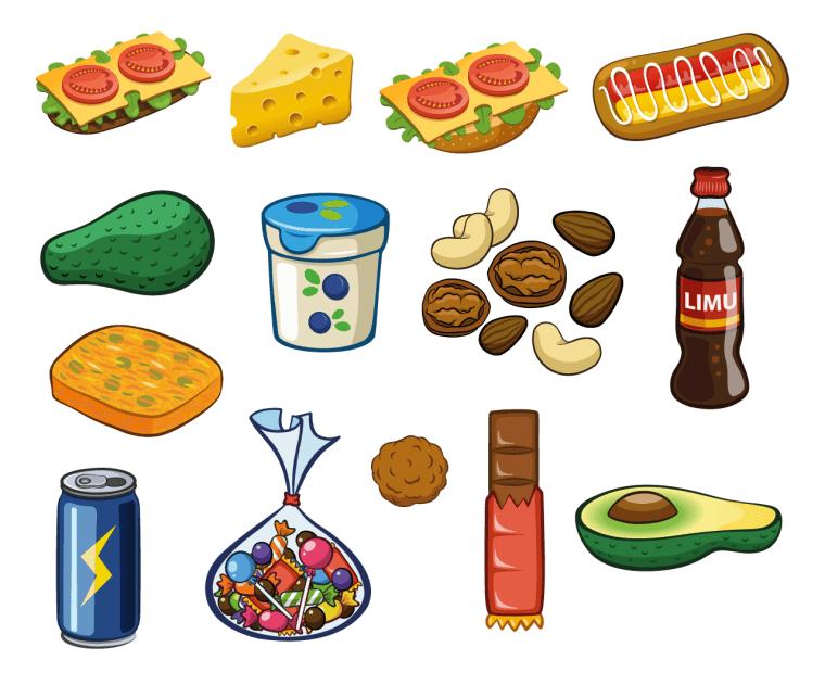 "Food Ingredients in Food Quiz Game ""Ruokavisa"""