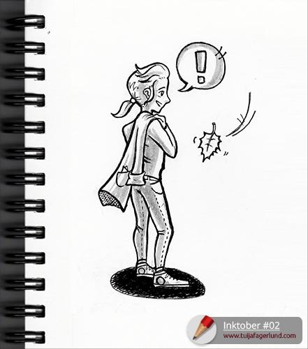 Inktober sketch #2