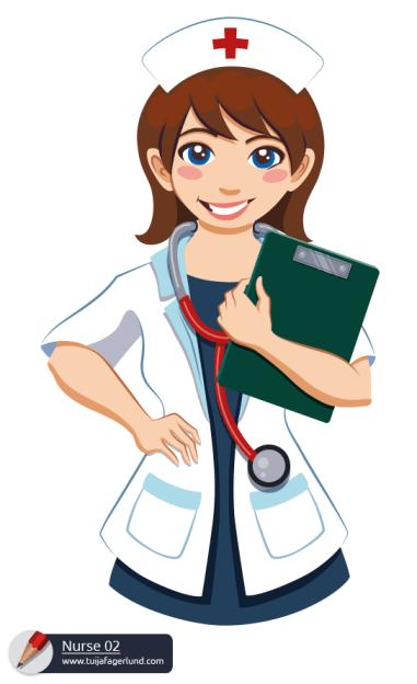 Character Illustration - Nurse