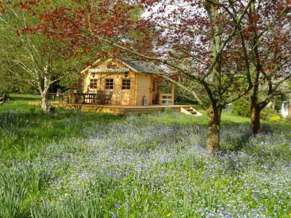 An amazing location for our Edelweiss log cabin