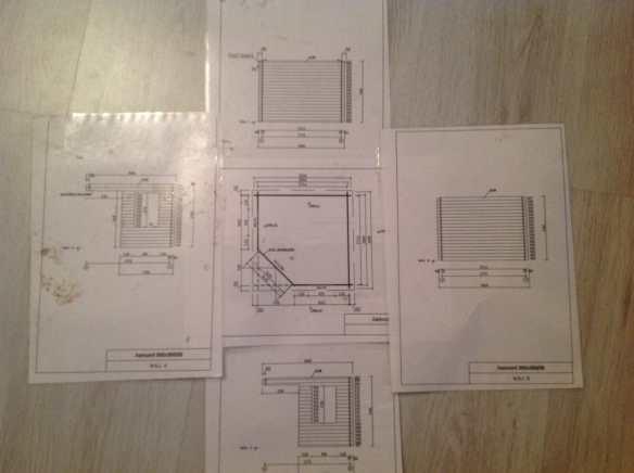 Laminated Log Cabin plans