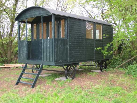 Finished Shepherd hut / Gypsy wagon.