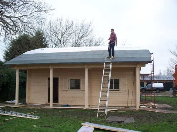 Make sure there is a design intent that allows you to walk on the roof for installation and maintenance