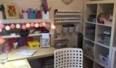 Daisy Log Cabin Craft Station