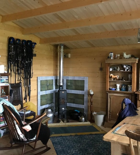 Inside The Gijs Log Cabin