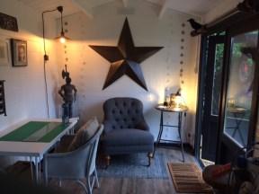 Justine Log Cabin Interior