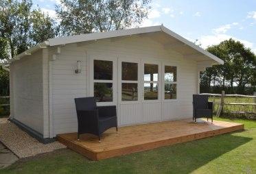 Mali log cabin