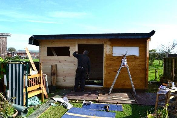 Zutphen-log-cabin-build-4