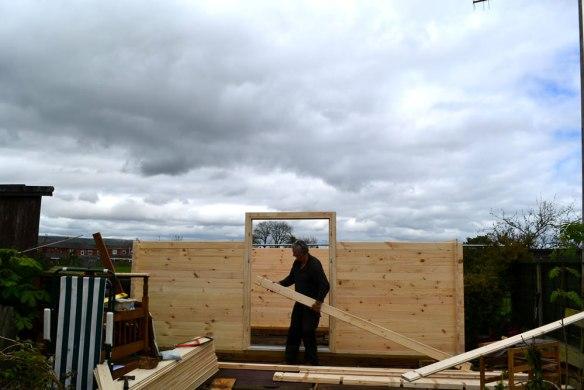 Zutphen-log-cabin-build