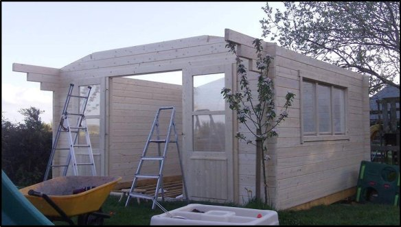 Nearly there in the build
