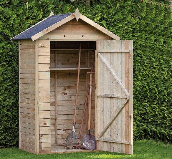 Drenthe storage shed