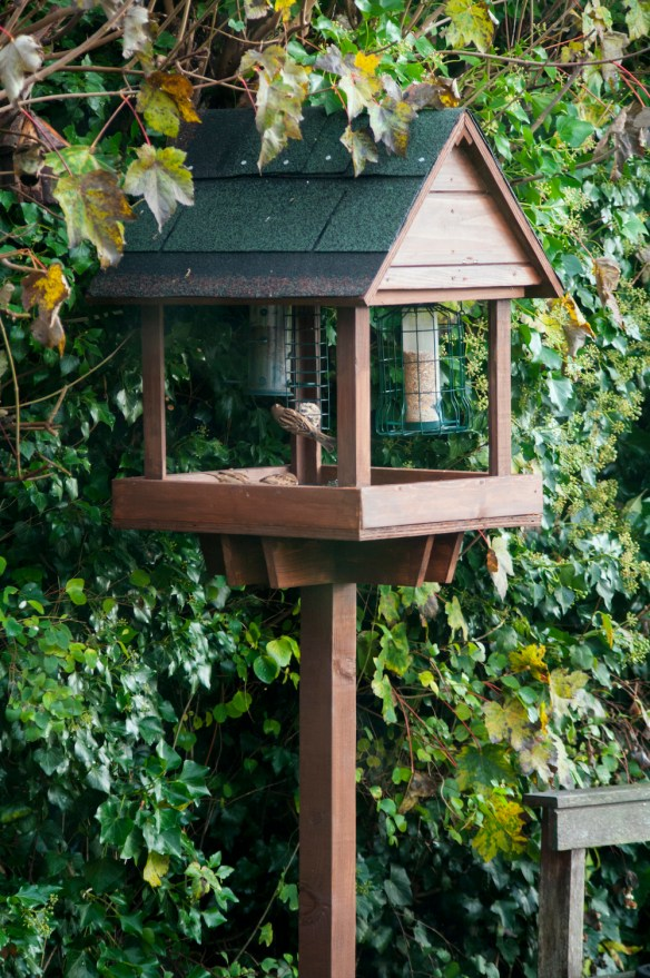 Recycled Bird Table