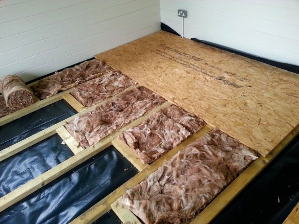 you do not need to order our T&G spruce floor if you are using an alternative floor covering.