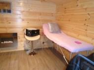 Dyre Log Cabin Interior