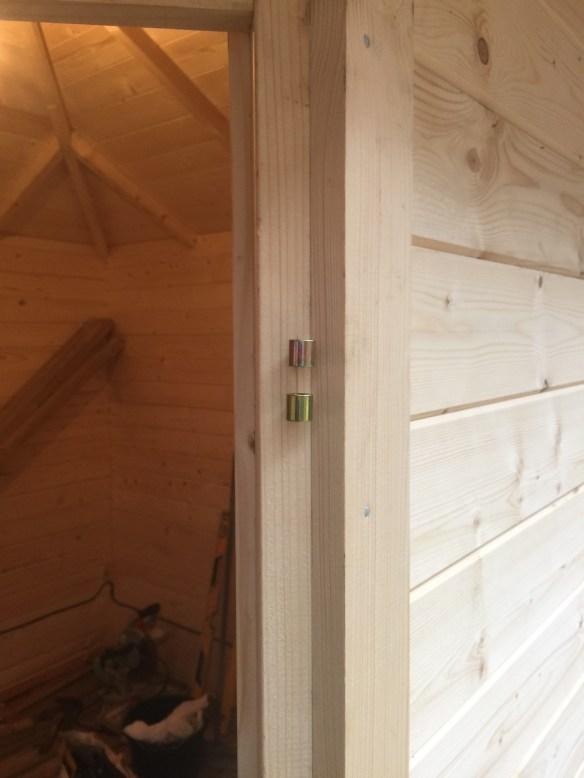 Log Cabin Door Frame