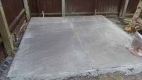 Concrete Bases For Log Cabins