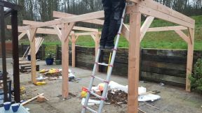 Larch Roof Purlins