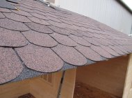 IKO Brown Rounded Shingles
