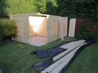 Agnes Log Cabin Purlin Installation