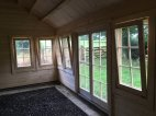 An Inside View Of The Double Glazed Windows And Doors