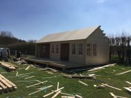 Installing the Ben Clockhouse Roofboards
