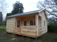 Edelweiss Log Cabin Completed Install