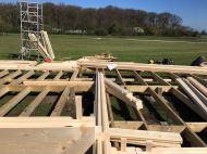 Installing the Ben Clockhouse Log Cabin
