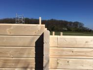 Installing the Ben Clockhouse Cabin Walls