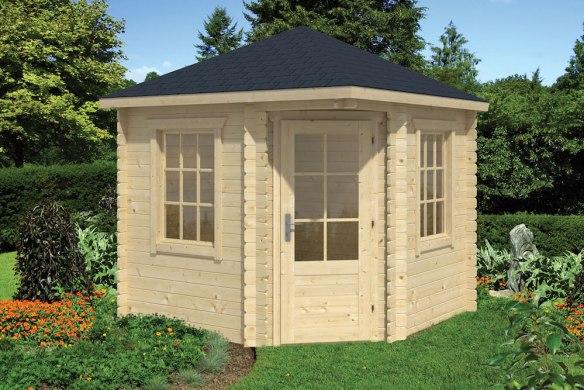 Daniel Corner Log Cabin