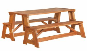 Vancouver Hardwood Picnic Table/Bench