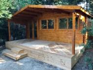 The Treated Gijs Log Cabin
