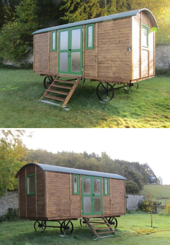 The completed Shepherds Hut Deluxe