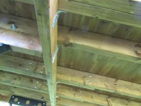 Shepherd Hut Joist Hangers