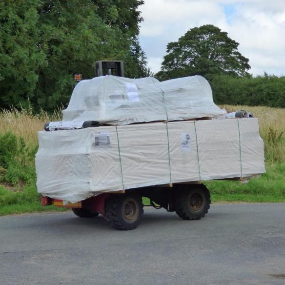 Shepherd Hut Delivery