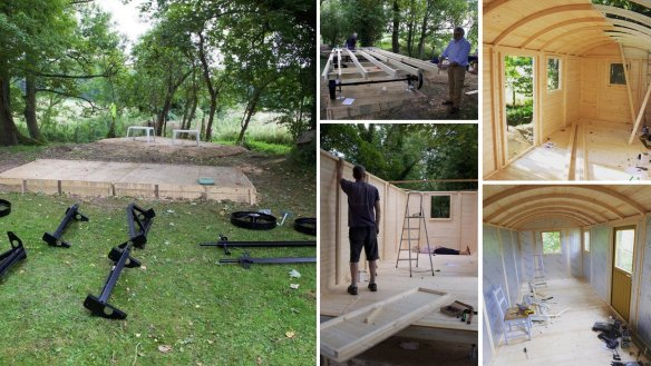 Shepherds Hut 600 Install