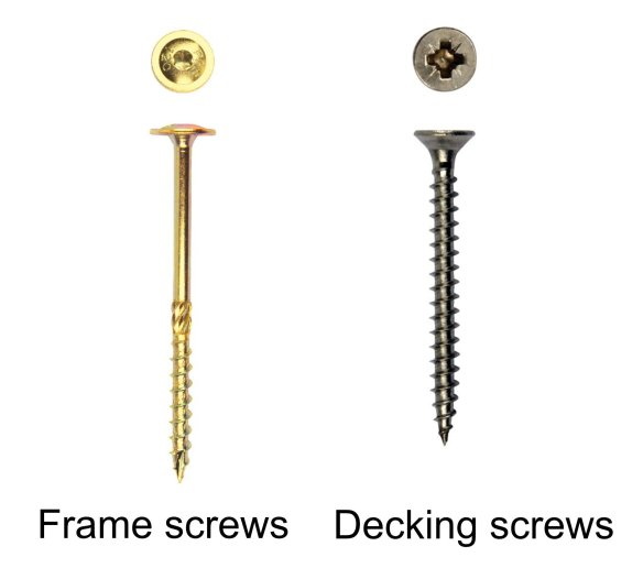 Garden Decking Screws