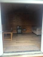 Ulrik Log Cabin Lounge Area