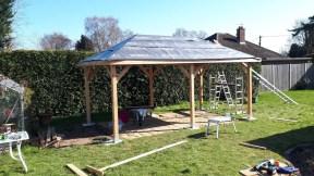 Corfu Roof Underlay Installation