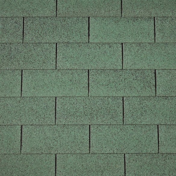 IKO Green shingles for log cabins