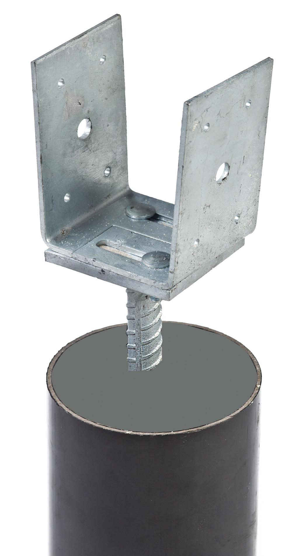 Adjustable Post Ground Anchor
