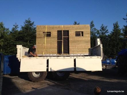 Een op maat gemaakt tuinhuis wordt door ons geleverd én geplaatst
