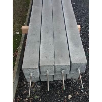 betonpaal met pin