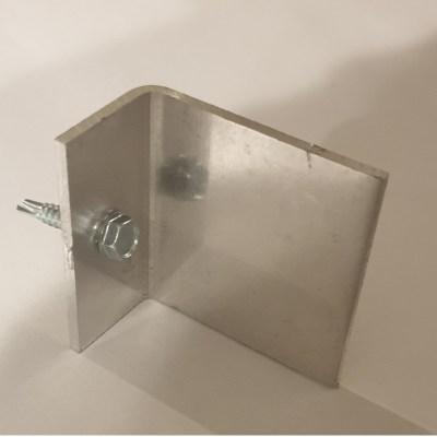 L profiel Aluminium paal
