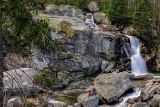 Wodospady na Studenym potoku