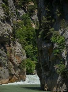 Wodospad Manavgat - Zielony kanion