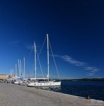 Sibenik - port jachtowy